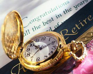 Retirement Flip Watch MP900401373