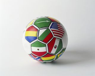 International Flags on Soccor Ball MP900425334