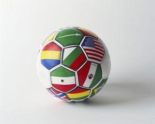 International Flags on Soccor Ball MP900425334