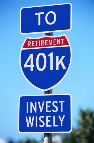 Retirement 401k Sign MP900422277