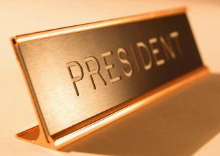 President Desk Sign MP900309649